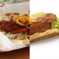 【見本と実物】本物のカレー味「モスのナン スパイスチキンカレー」